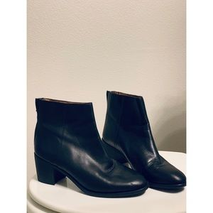MADEWELL // Leather Ankle Boots